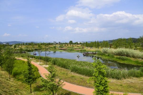 남원시 요천생태습지공원 (사진제공=전북도청)